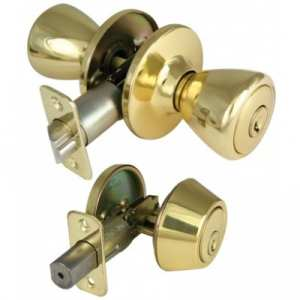 Locksmith Portland deadbolt and door knob