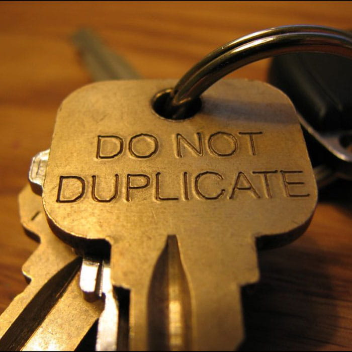 Do not duplicate keys Portland locksmith