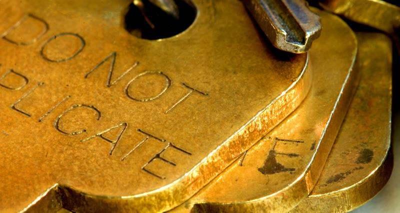 Do Not Duplicate Keys Locksmith Portland 503 825 2124