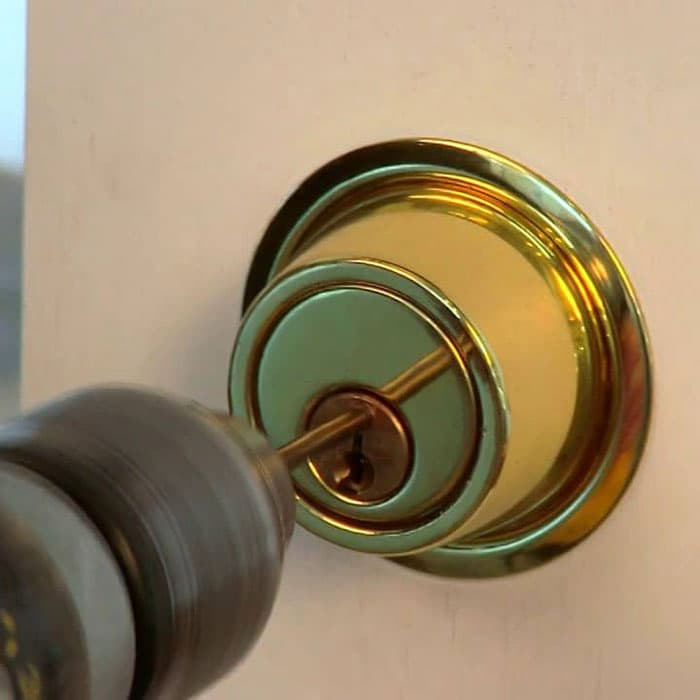 Portland locksmith residential lockout drilling lock