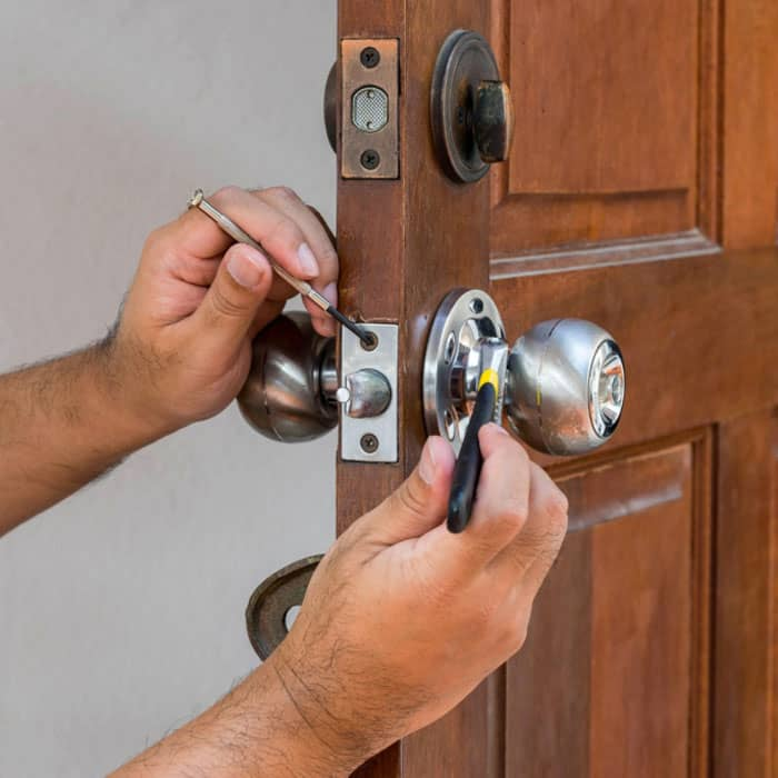 Door lock installation service Portland locksmith